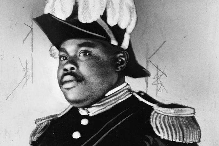 THE FATHER OF OUR NATION, THE HON. MARCUS GARVEY.